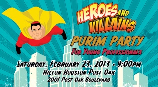 Purim Heroes and Villains